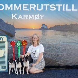Banner produsert for Karmøy hundeklubb