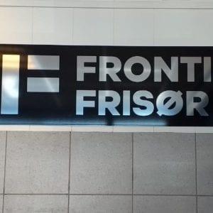 Skilt Frontier frisør