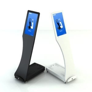 Signo, portabel digitalskjerm med touch