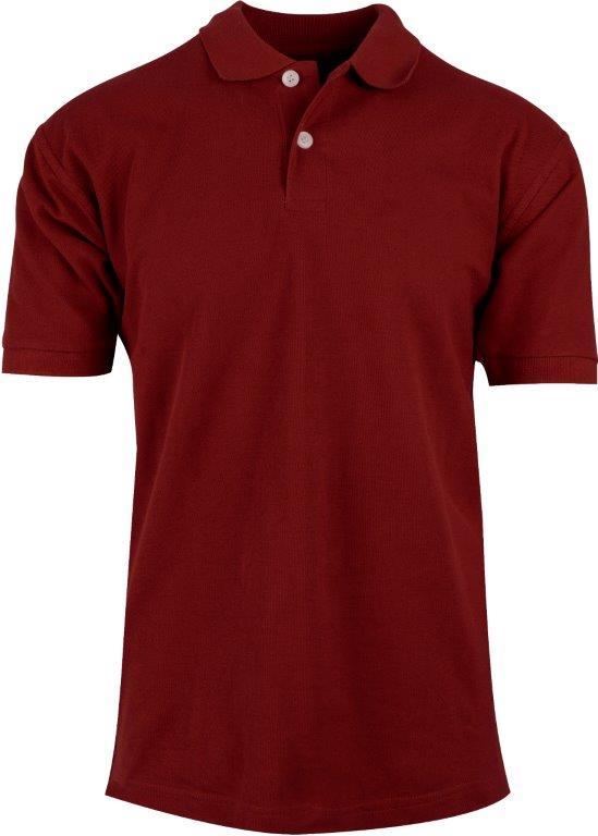 Tykking av logo på piquet skjorte