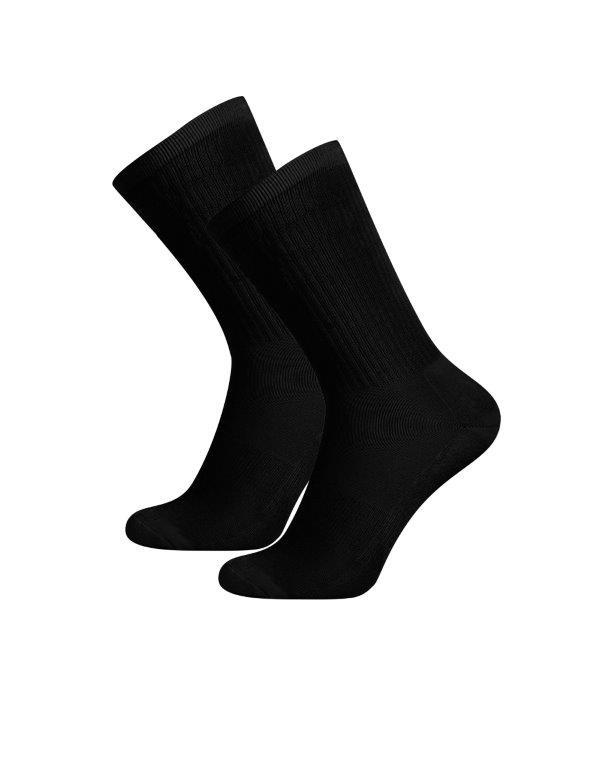 Tykking av logo på sokker